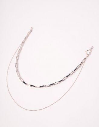 Підвіска на шию із ланцюжків з серцем | 247006-05-XX - A-SHOP