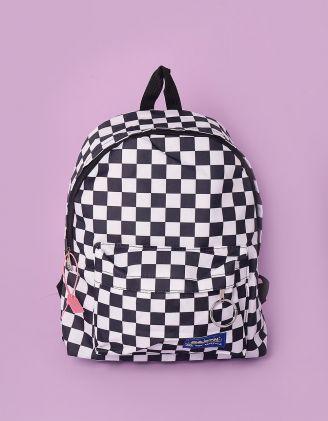 Рюкзак для міста у клітинку | 245373-01-XX - A-SHOP