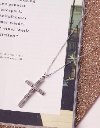 Підвіска з хрестом | 240802-06-XX - A-SHOP