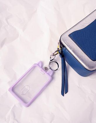 Брелок на сумку картхолдер з вушками | 240710-35-XX