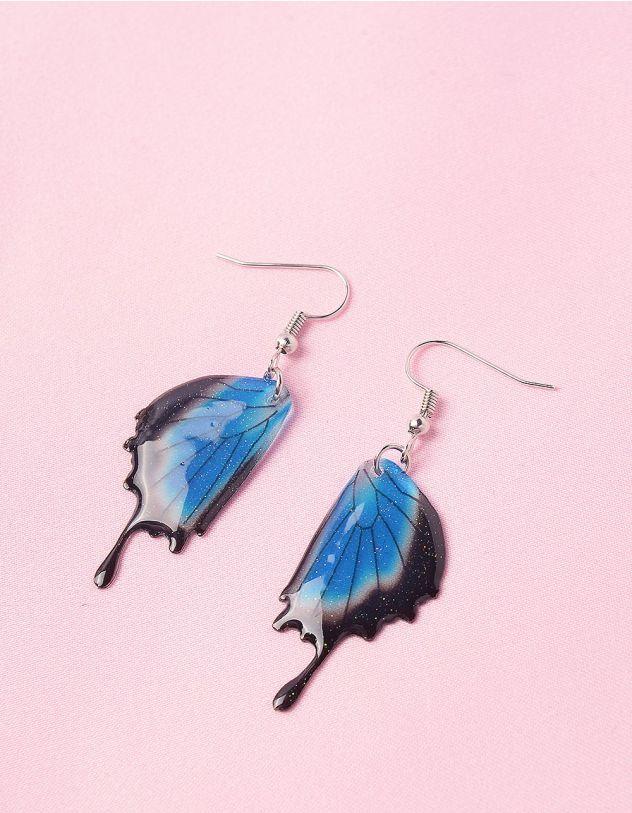 Сережки у вигляді крил метелика | 246312-13-XX - A-SHOP