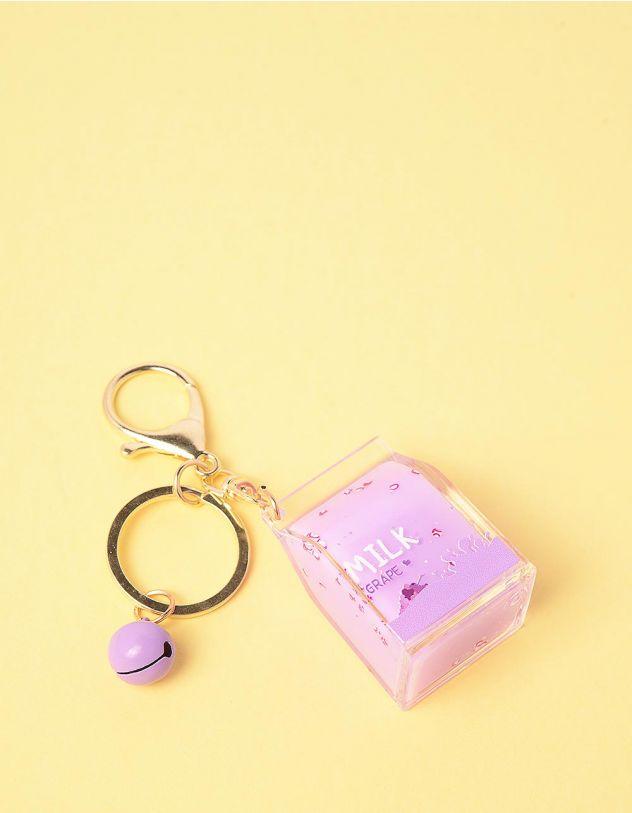 Брелок на сумку у вигляді пака молока | 245458-03-XX - A-SHOP