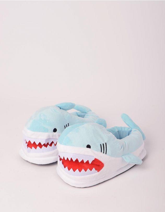 Капці кімнатні у вигляді акули | 248417-18-17 - A-SHOP