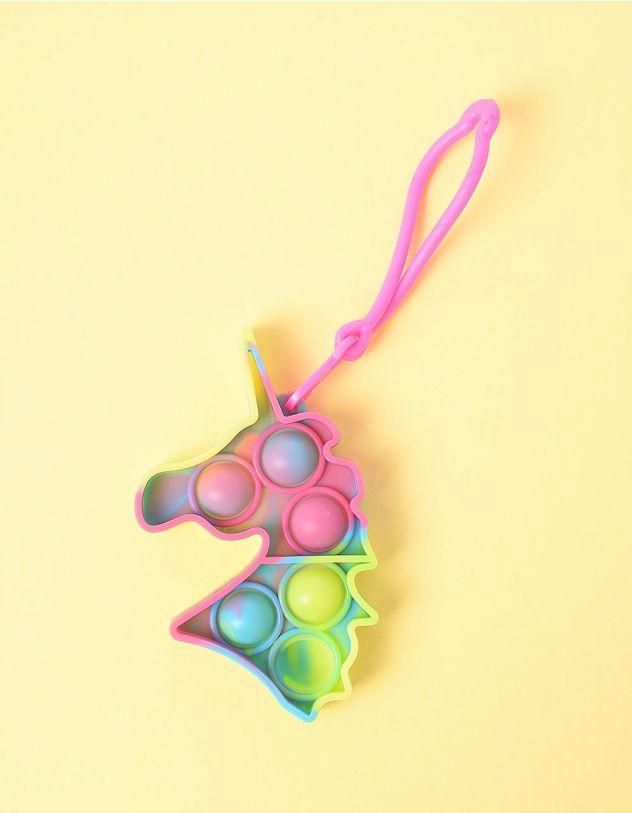 Іграшка антистрес pop it сімпл дімпл брелок у вигляді єдинорога | 248572-21-XX - A-SHOP