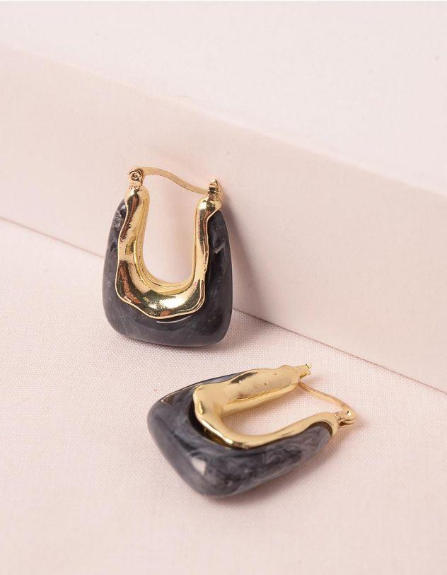 Сережки з камінням   248475-11-XX - A-SHOP