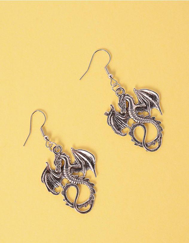 Сережки у вигляді драконів | 247710-05-XX - A-SHOP