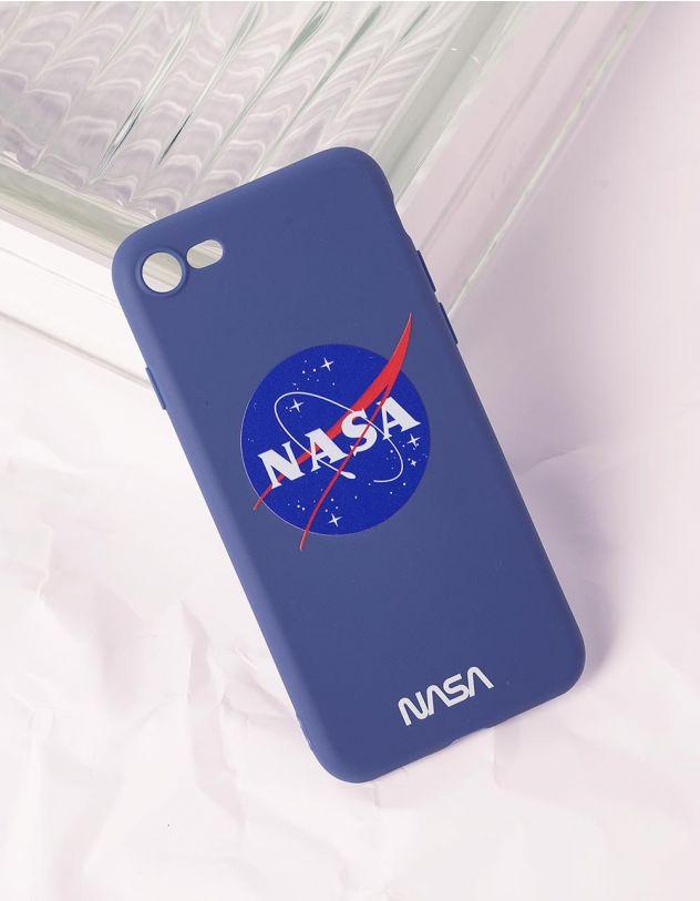 Чохол для телефону з написом NASA | 240756-13-56 - A-SHOP