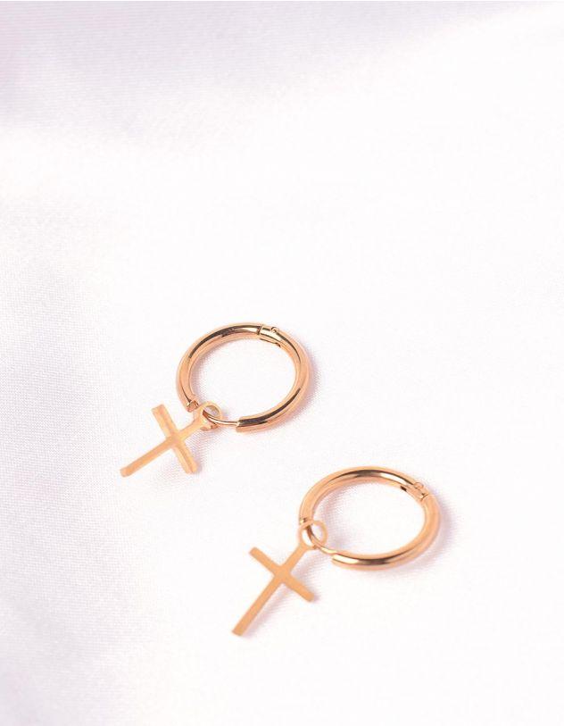 Сережки з хрестиками   247023-04-XX - A-SHOP