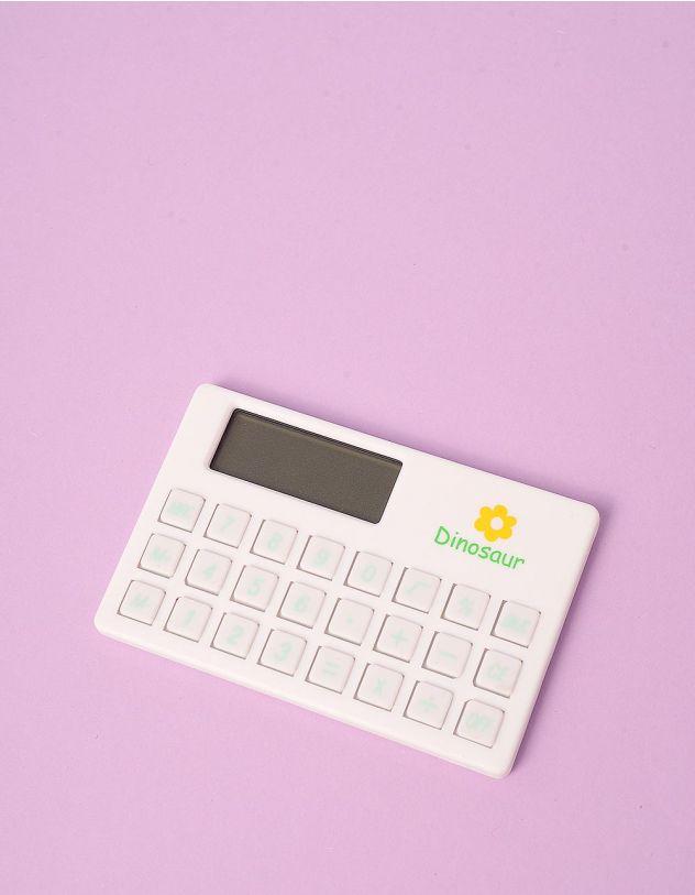 Калькулятор з принтом динозавра | 245563-01-XX - A-SHOP