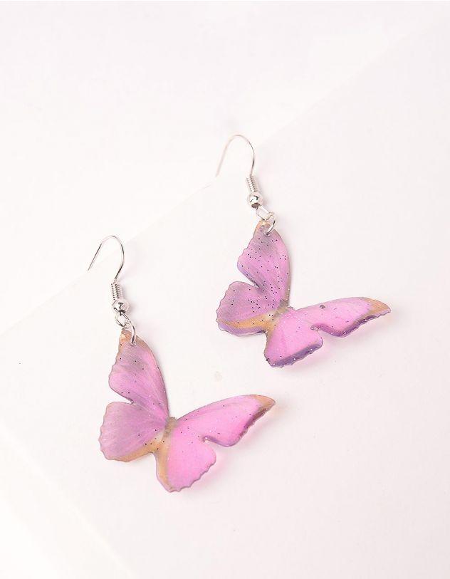 Сережки з метеликами   246307-03-XX - A-SHOP