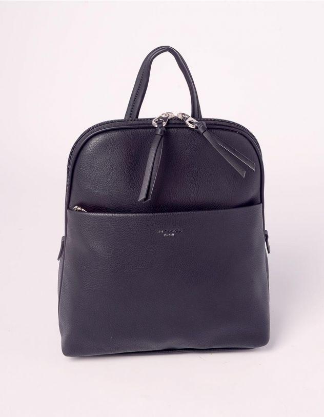Рюкзак на блискавці з кишенею | 239180-02-XX - A-SHOP
