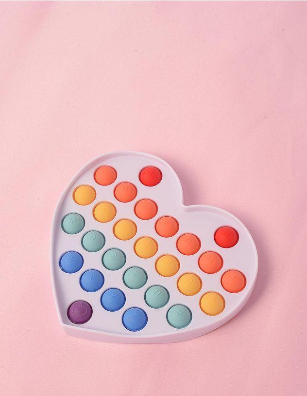 Іграшка антистрес pop it у вигляді серця | 248677-21-XX - A-SHOP
