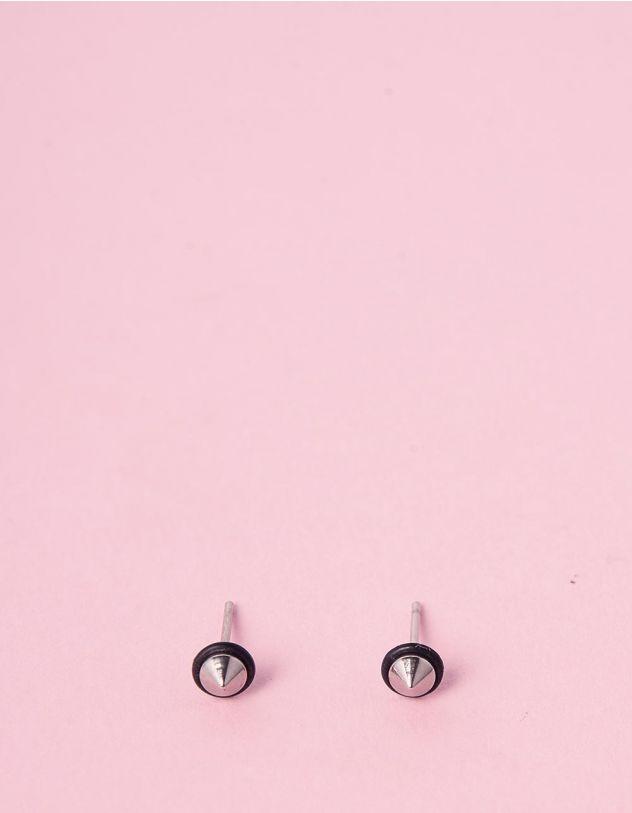 Сережки пусети з шипами | 240341-02-XX - A-SHOP