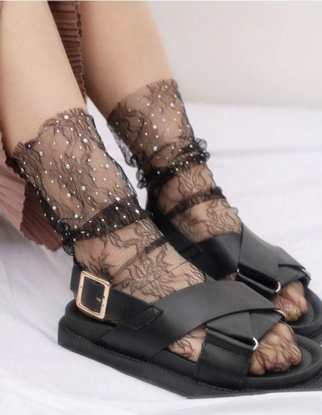 Шкарпетки із мережива з перлинами | 246262-02-XX - A-SHOP