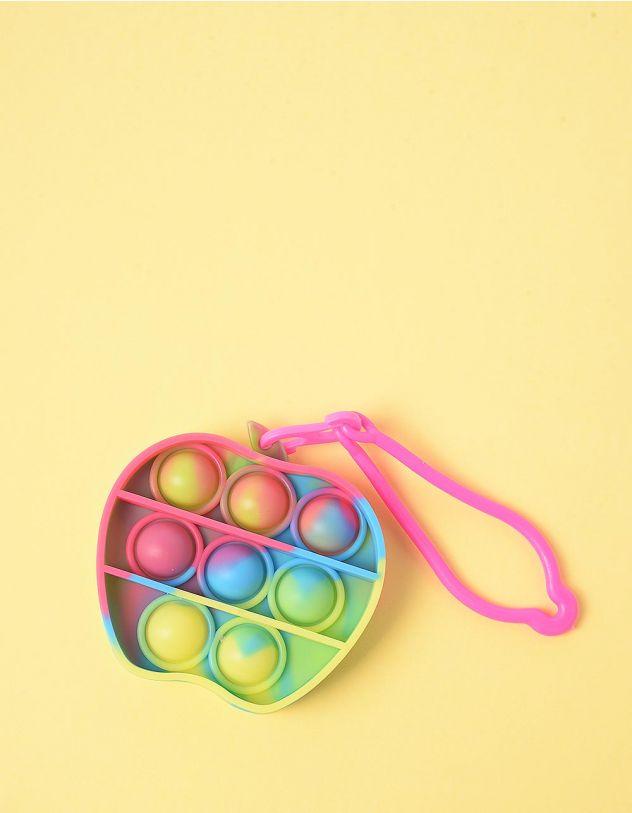 Іграшка антистрес pop it сімпл дімпл брелок у вигляді яблука | 248607-21-XX - A-SHOP