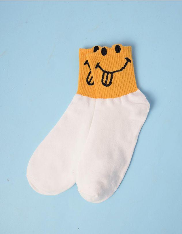 Шкарпетки зі смайликом | 243120-19-XX - A-SHOP