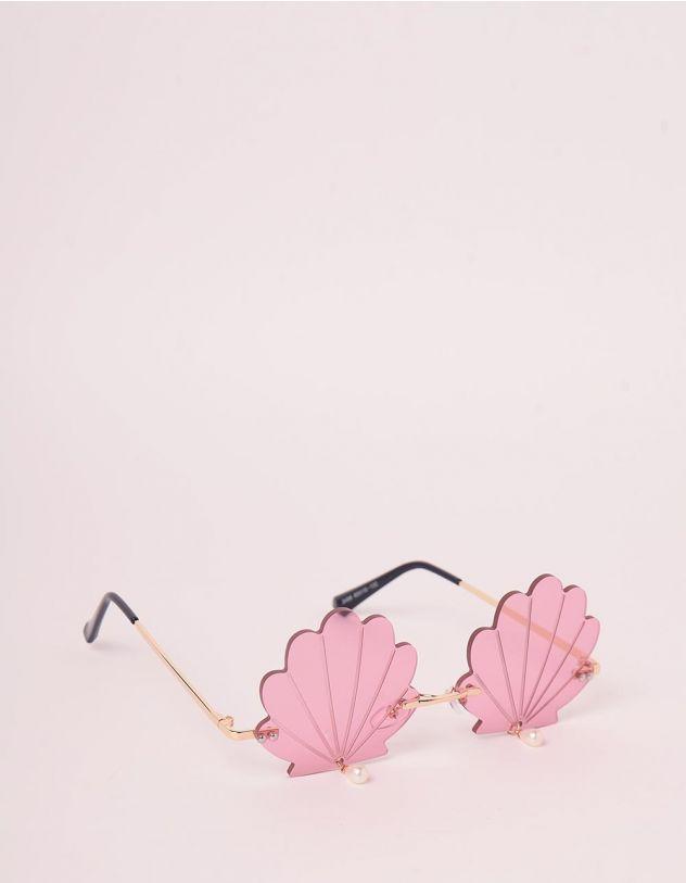 Окуляри у вигляді мушлі з перлинами   247984-14-XX - A-SHOP