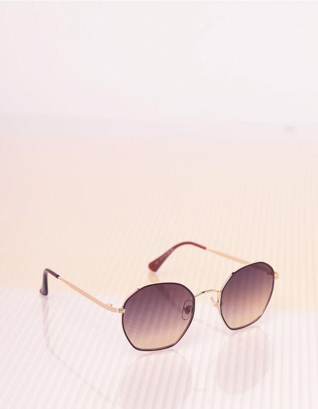 Окуляри сонцезахисні з тонкими дужками   241618-12-XX - A-SHOP