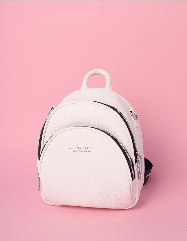 Рюкзак трансформер малеький з кишенею | 238959-01-XX - A-SHOP
