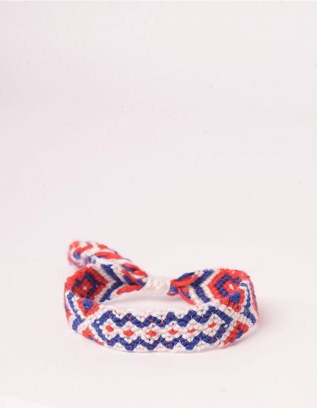 Браслет на руку плетений з орнаментом | 244285-15-XX - A-SHOP