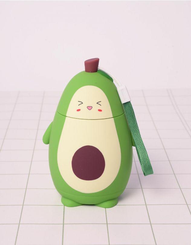 Пляшечка на 280мл у вигляді авокадо | 242004-32-XX - A-SHOP