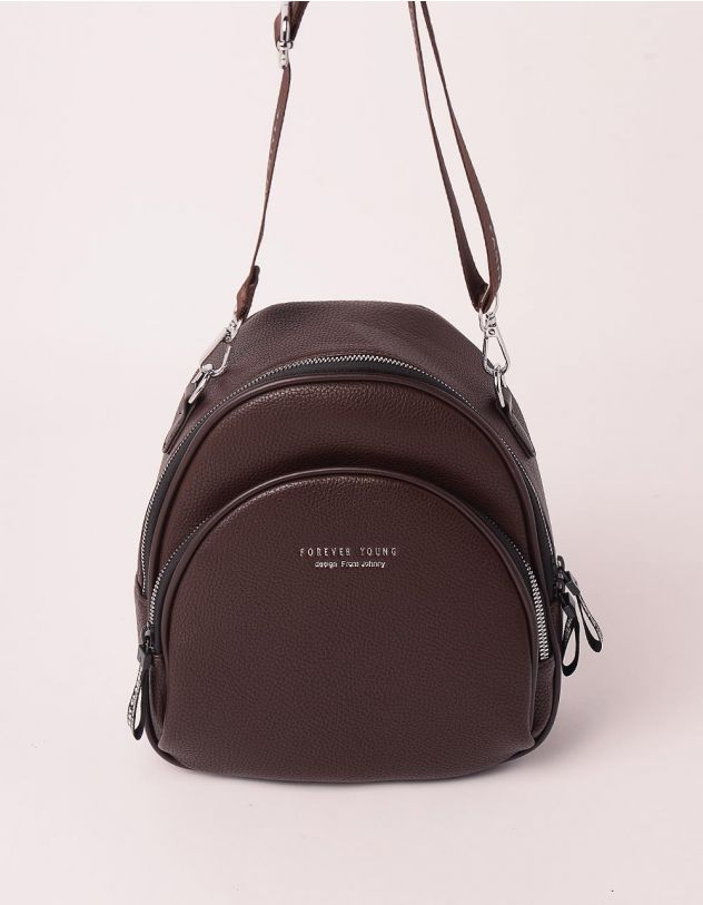 Рюкзак трансформер маленький з кишенею | 238959-33-XX - A-SHOP