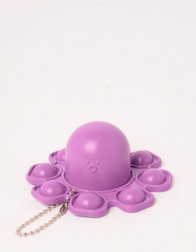 Іграшка антистрес pop it брелок у вигляді восьминога | 248968-03-XX - A-SHOP