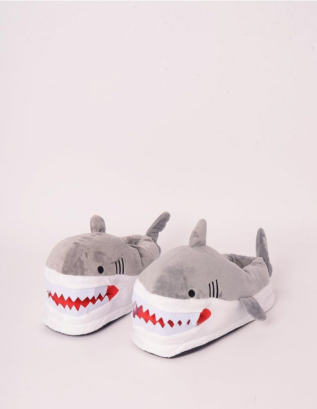 Капці кімнатні у вигляді акули | 248417-11-17 - A-SHOP