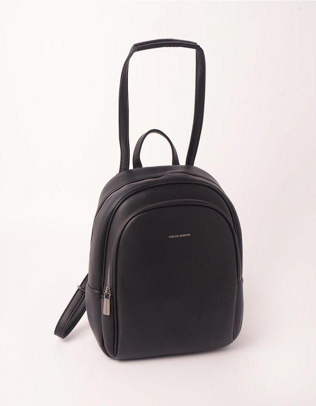 Рюкзак трансформер на блискавці з кишенею | 248781-02-XX - A-SHOP