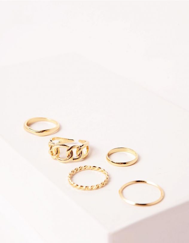 Кільця фалангові у виді ланцюжків | 246979-04-XX - A-SHOP