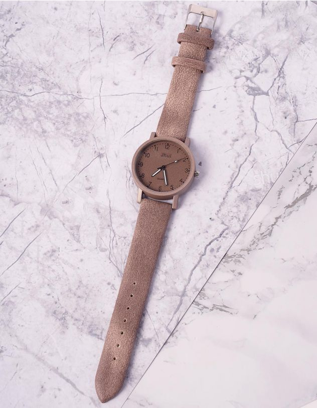 Годинник на руку з круглим циферблатом | 237305-39-XX - A-SHOP