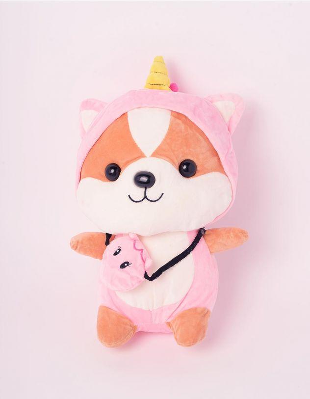 Іграшка м'яка у вигляді лисеняти у костюмі єдинорога | 243318-14-XX - A-SHOP