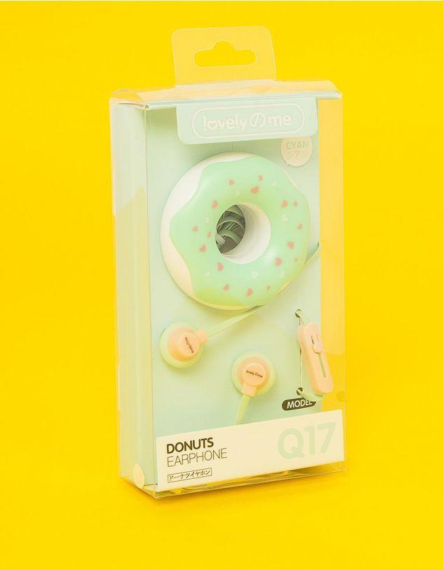 Навушники з чохлом у вигляді тістечка | 232184-37-XX - A-SHOP