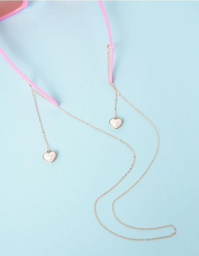 Ланцюжок для окулярів з перлинами у вигляді серця | 247925-08-XX - A-SHOP
