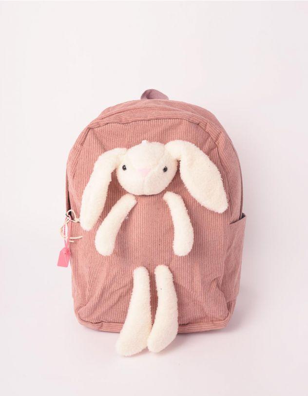 Рюкзак для міста  з зайчиком | 246596-71-XX - A-SHOP