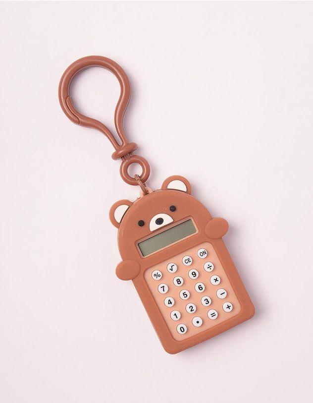 Калькулятор брелок у вигляді ведмедика з іграшкою лабіринтом | 247034-12-XX - A-SHOP