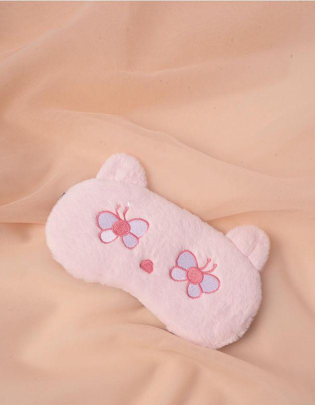 Пов'язка для сну у вигляді ведмедика з метеликами   244701-14-XX - A-SHOP