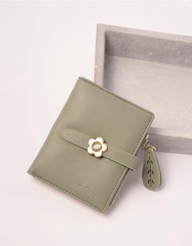 Гаманець портмоне жіночий з ромашкою на шльовці   244924-20-XX - A-SHOP