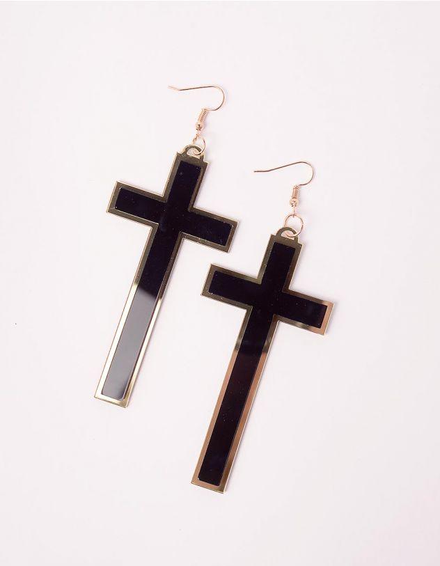 Сережки у вигляді хрестів | 246247-09-XX - A-SHOP