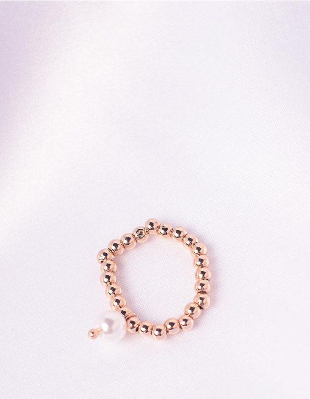Кільце із намистин з перлиною | 243604-08-XX - A-SHOP