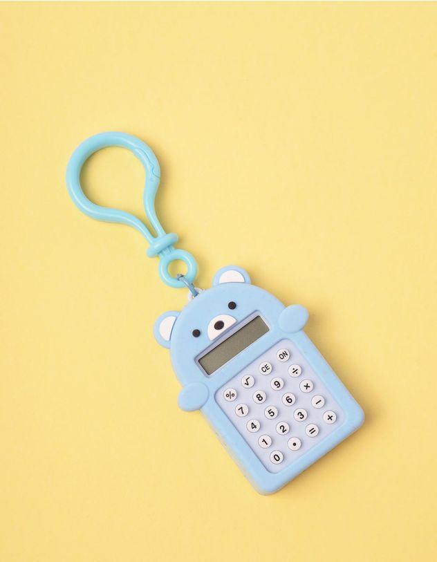 Калькулятор брелок у вигляді ведмедика з іграшкою лабіринтом | 247034-18-XX - A-SHOP