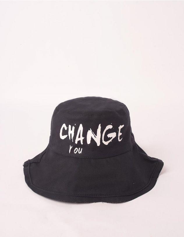 Панама з написом CHANGE YOU   247385-02-XX - A-SHOP
