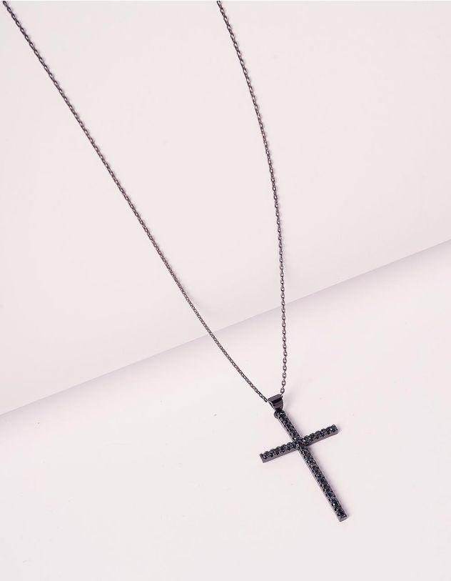 Підвіска на шию з хрестиком | 239969-02-XX - A-SHOP