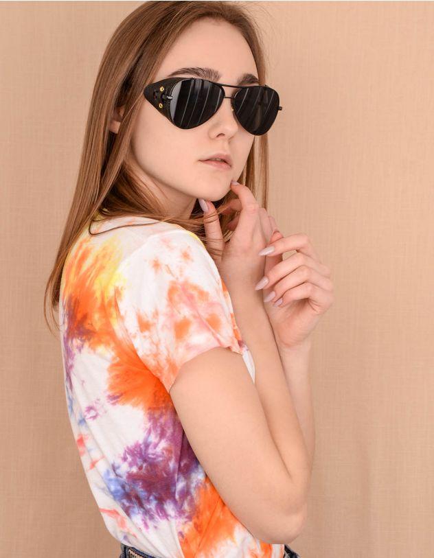 Окуляри сонцезахисні авіатори у стилі стімпанк | 239834-02-XX - A-SHOP