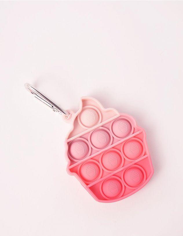 Іграшка антистрес pop it брелок у вигляді морозива   249345-14-XX - A-SHOP