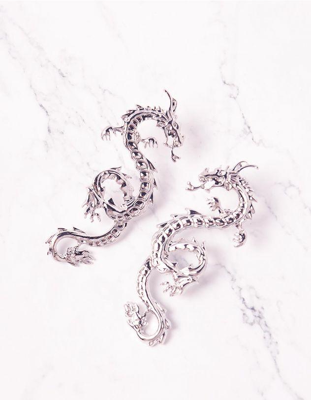 Сережки у вигляді дракона | 243881-05-XX - A-SHOP