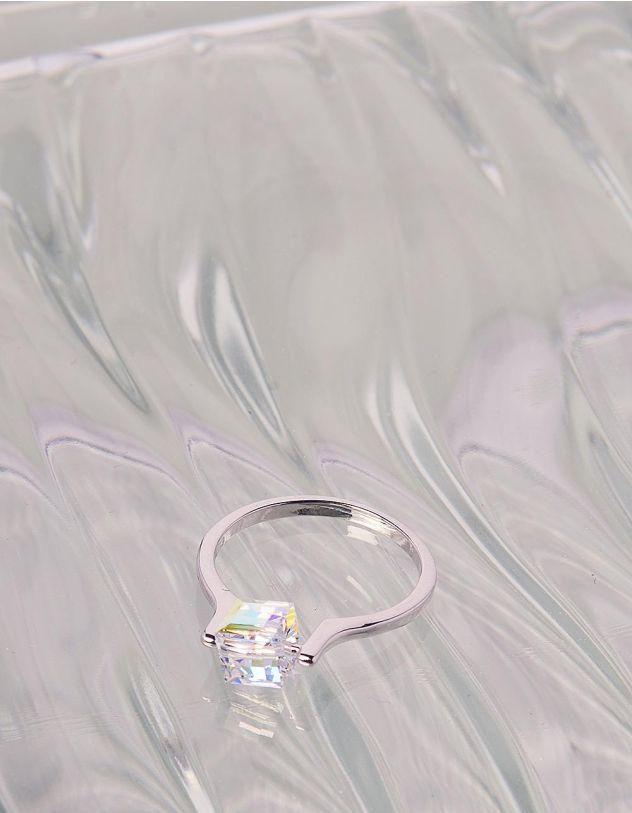 Кільце з фігурним кристалом | 241439-06-39 - A-SHOP
