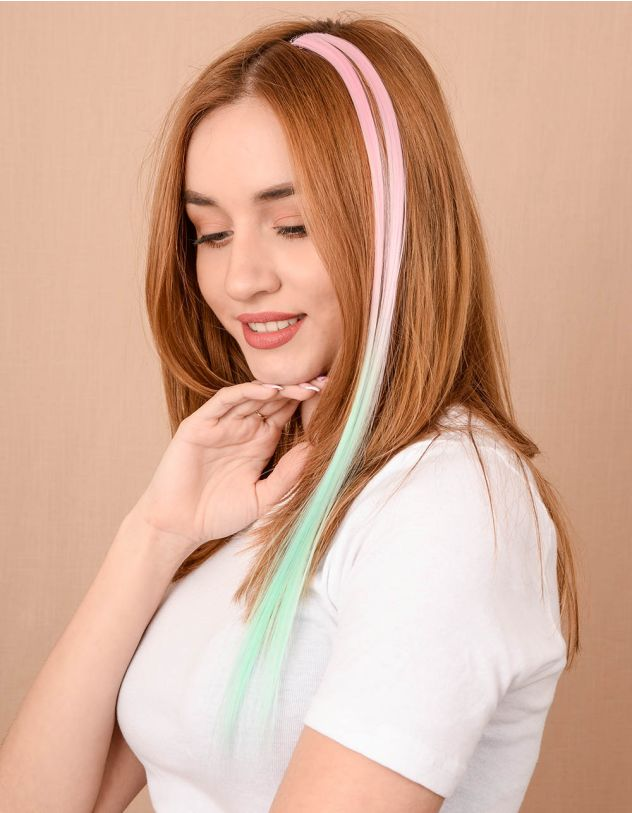 Прядка для волосся двокольорова   204935-23-XX - A-SHOP