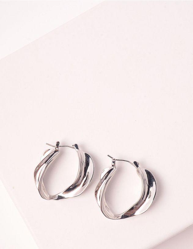 Сережки кільця | 248625-05-XX - A-SHOP