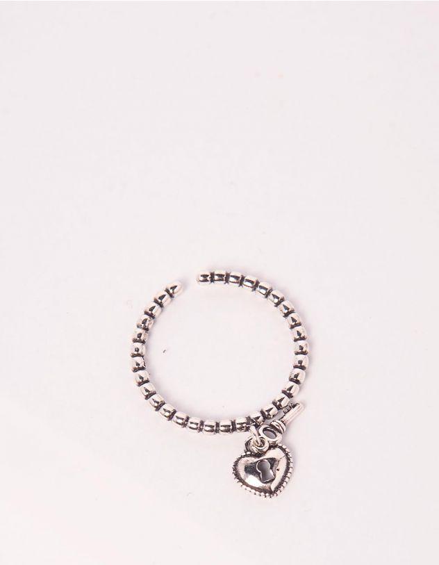 Кільце з кулоном у вигляді серця | 245405-05-XX - A-SHOP